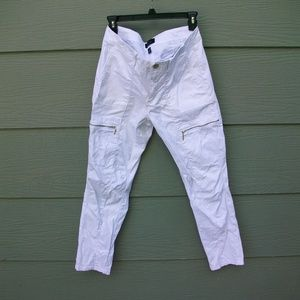 White House Black Market WHBM Sz 8 26L Pants White